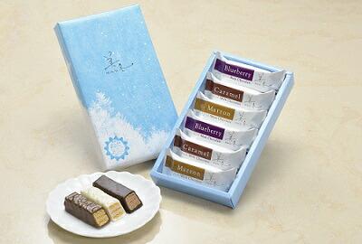 美冬 (ブルーベリー、キャラメル、マロン) 6個入×15箱セット