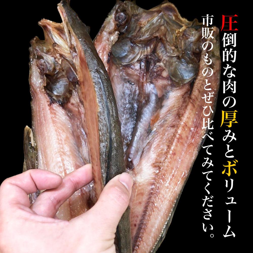 ほっけ 肉厚縞ほっけ 380-400g前後×10枚