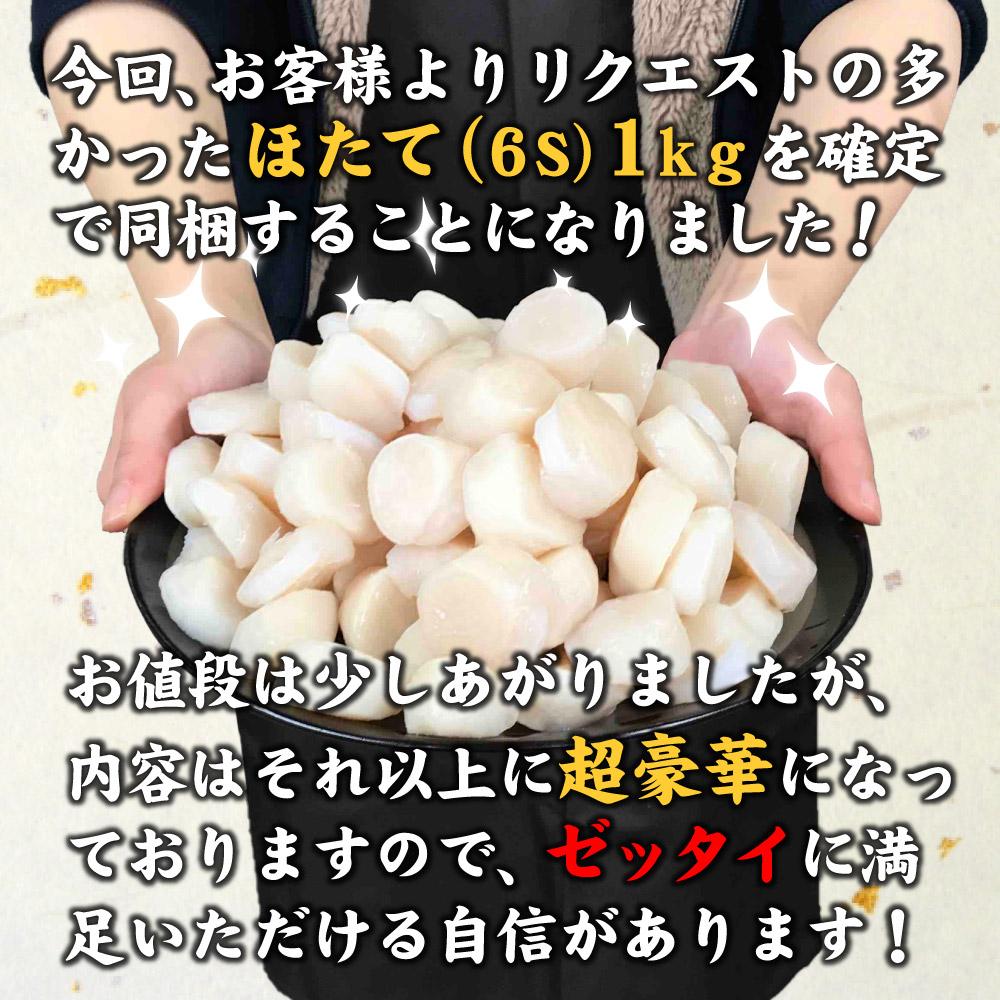 訳あり福袋 ほたて入北海道海鮮福袋セット 第二弾