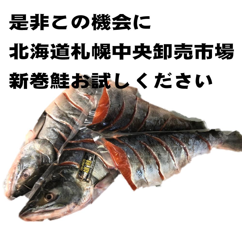 #元気いただきますプロジェクト 新巻鮭 1尾